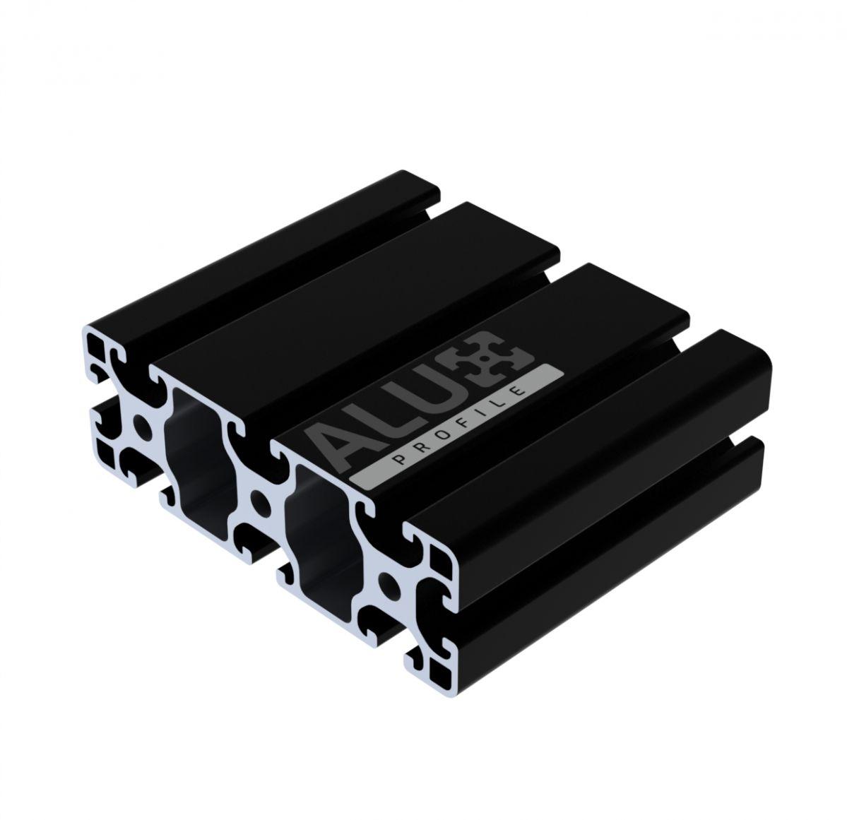 aluprofil 40x120 schwarz
