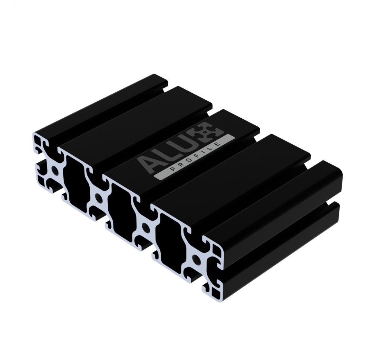 aluprofil 40x160 schwarz