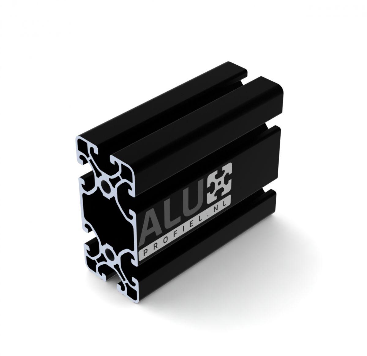 aluminium systemprofil 40x80 schwarz