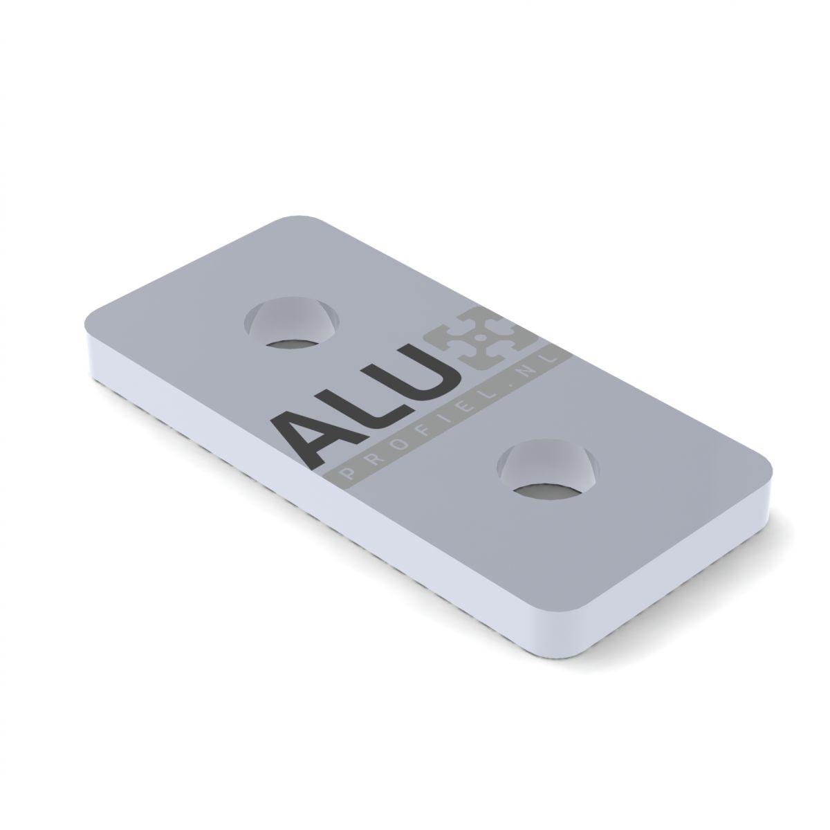 aluminium verbinderplatte 20x40